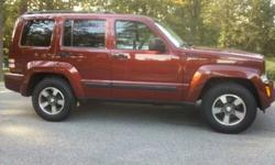 $16,900 OBO 2008 Jeep Liberty Sport, 4x4, with Only 12,500