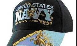 $16 United States Navy We Own the Seas Ball Cap