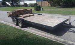 16' x 6' Flatbed Trailer For Sale In Jacksonville FL