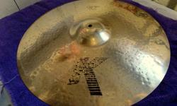 $170 Zildjian K Custom Ride Cymbal 20 Inch (Minneapolis)