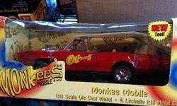 $175 American Muscle THE MONKEES MoBILE scale 1:18 car