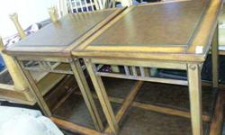 $175 Coffee table and end tables (anch)
