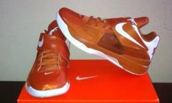 $175 DS Nike Zoom KD IV Texas Longhorn PE sz8 & 12, very