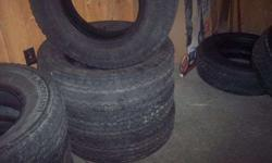 $175 LT235/80R17 Tires set of 4 (conneautville Pa.)