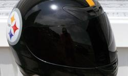 $179 Pittsburgh Steelers Motorcycle Helmet (Full Face)