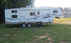 $17,000 Camper 2003 Couger 5th wheel w/hitch