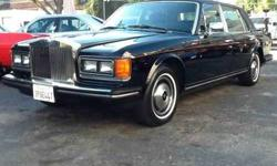 $17,995 1986 Rolls Royce Silver Spur******Black Beauty with