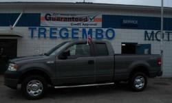 $17,998 2008 Ford F-150 4X4 S/C XL