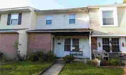 17 Madeley CT Sicklerville Three BR, 2 Story Townhouse