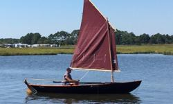17' Northeaster Dory sail and row