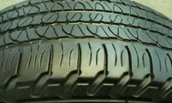 $180 255-65-18 Goodyears %65 Tread $180.00 Set of 4