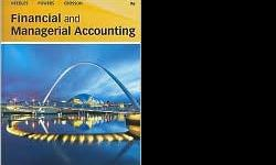$185 Financial and Managerial Accounting by