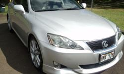 $18,000 2006 Lexus IS 350, 3.5L V6 Automatic Sedan, 50K