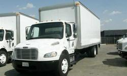 $18,250 2005 freightliner m-2 24 ft box truck
