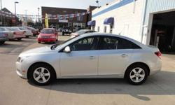 $18,288 Used 2011 Chevrolet CRUZE LT Sedan, 8,300 miles