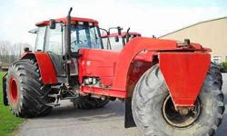 $18,500 1996 New Holland 8260
