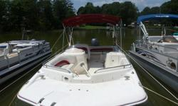 $18,500 2007 Hurricane FunDeck gs 201