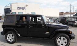 $18,500 2007 Jeep Wrangler UNLIMITED SAHARA