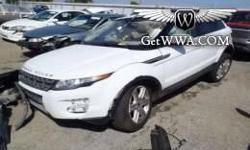 $18,900 2012 Land Rover Range Rover Evoque $18,900, White,