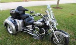 $18,900 Yamaha V-Star motorcycle for sale