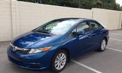 $18,988 OBO 2012 Honda Civic EX - Low Miles