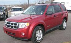 $18,995 2008 Ford Escape XLT 4WD with MOONROOF ONLY 38k mi