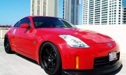 $18,999 OBO 2007 Nissan 350z Touring Rims Drop Hid