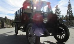 1920 Maxwell 1.5 Ton Antique Truck Worldwide Delivery