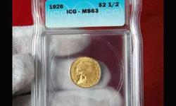 1926 Indian Head Gold Coin