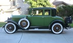1929 Buick Model 29-48 Two Door Coupe -Free Delivery