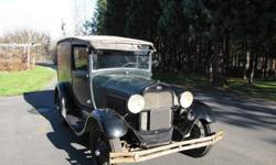1929 Ford Model A Panel Delivery Delivery Worldwide