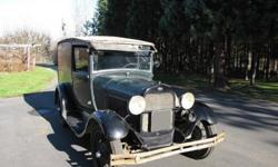 1929 Ford Model A Panel Delivery - Free Shipping - Barn Find