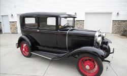 1930 Ford Model A Tudor Sedan With Worldwide Delivery