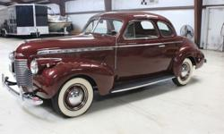 1940 Chevrolet Coupe Deluxe With Free Shipping