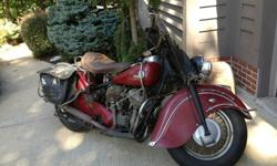 1946 Indian Chief red