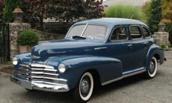 1947 Chevrolet Fleetmaster 4-Door Deluxe Sport Sedan