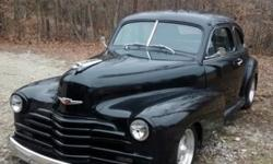 1947 Chevrolet Streetrod Coupe 2-Door Free Shipping