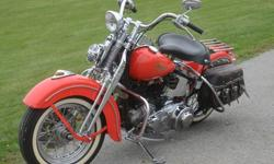 1947 Harley-Davidson Knucklehead -Shipping Worldwide-
