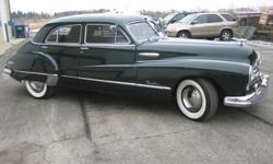 1948 Buick Roadmaster 4 Door Sedan Resto-Rod
