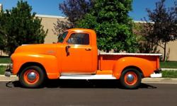 1952 Chevrolet Pickup: Runs; Perfect Show Truck