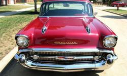 1957 Chevrolet Bel Air/150/210 Post Coupe
