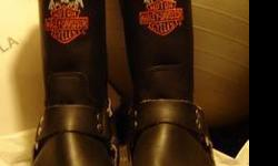 $195 Vintage Harley Boots sz12D mint condition