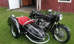 1962 BMW R60/2 with Steib S500 Sidecar