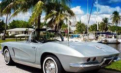 1962 Chevrolet Corvette Convertible Silver
