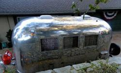 "1964 Airstream GLOBE TROTTER ""BABY SIZED"" 16' CABIN LARGE"