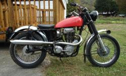 1964 Matchless G80CS Competition Scrambler