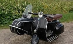 1964 Vespa with Side Car