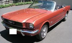 1966 Ford Mustang Emberglo Convertible