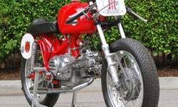 1967 Aermacchi 350cc Racer - Free Shipping - Restored
