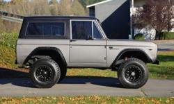 1967 Ford Bronco - Carbon Paint, Upgrades